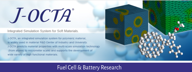 Fuel Cell and Battery Research : Molecular Dynamics Simulation